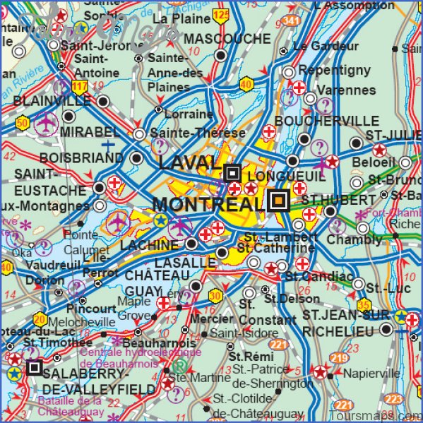 montreal map and travel guide 1 Montreal Map and Travel Guide