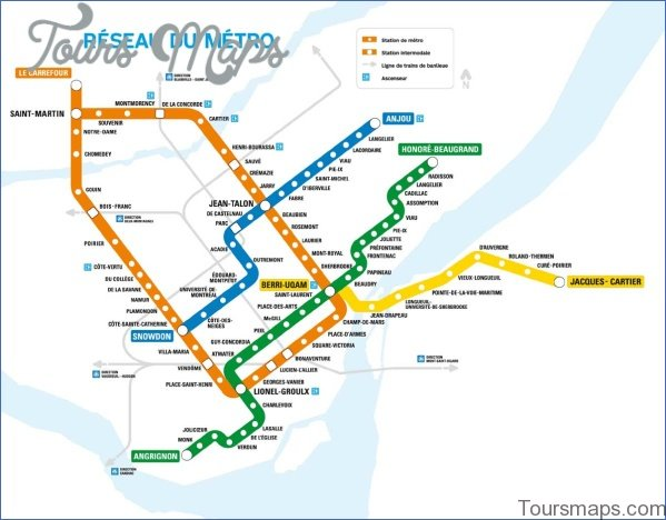 montreal map and travel guide 17 Montreal Map and Travel Guide