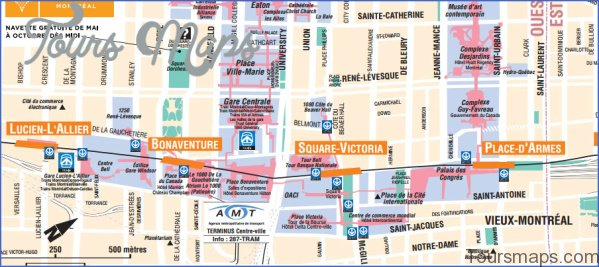 montreal map and travel guide 5 Montreal Map and Travel Guide