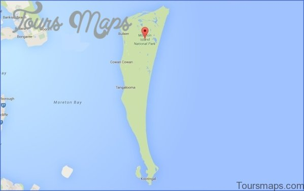 moreton island map 942x590 Moreton Island  Map and Travel Guide