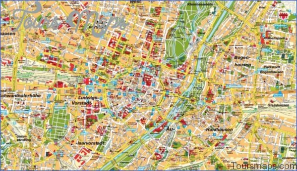 munich map and travel guide 1 Munich Map and Travel Guide