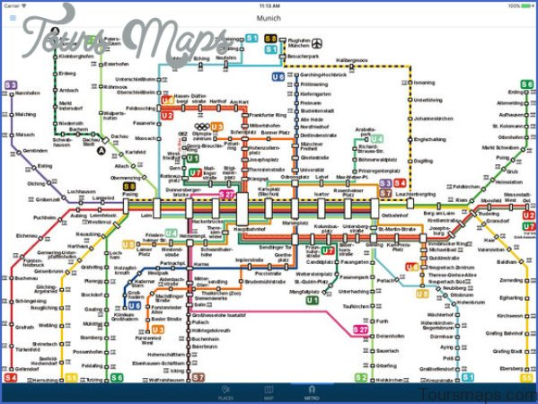 munich map and travel guide 11 Munich Map and Travel Guide
