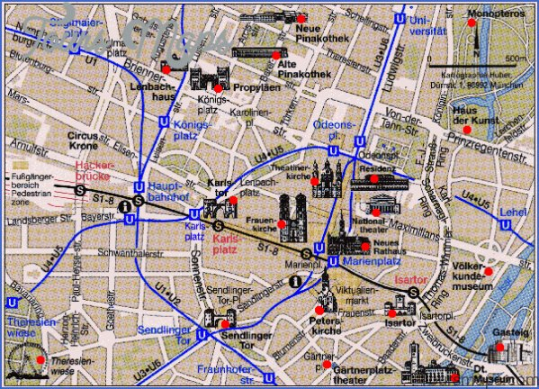 munich map and travel guide 12 Munich Map and Travel Guide