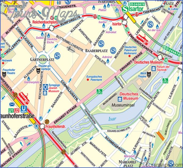 munich map and travel guide 2 Munich Map and Travel Guide