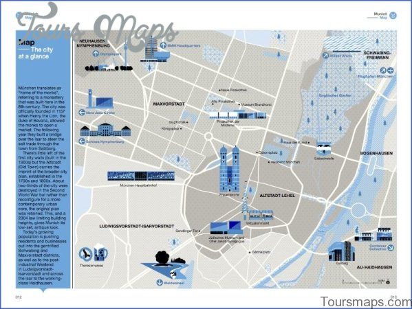 munich map and travel guide 4 Munich Map and Travel Guide