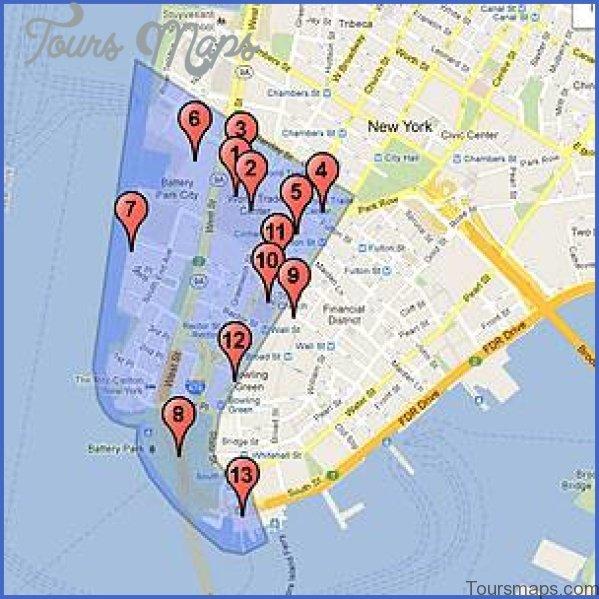 new york city world trade center map 15 New York City World Trade Center Map