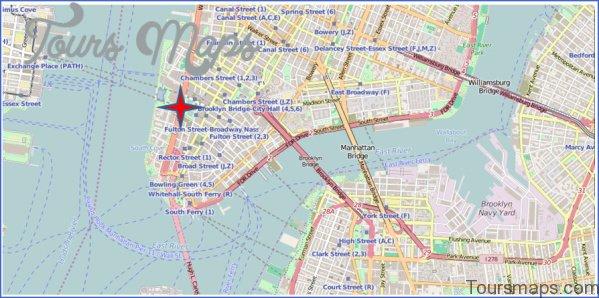 new york city world trade center map 4 New York City World Trade Center Map