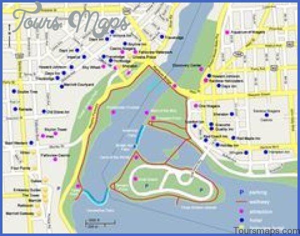 niagara falls map and travel guide 12 Niagara Falls Map and Travel Guide