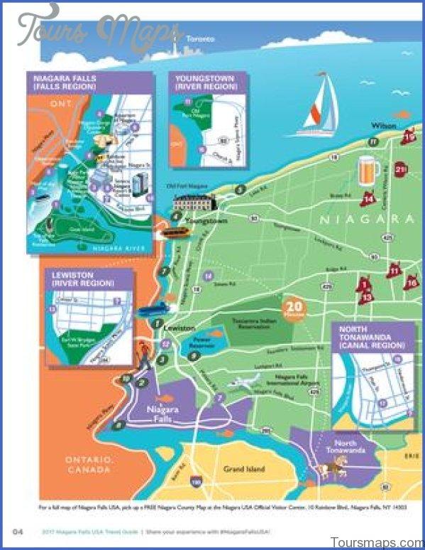 Niagara Falls Map And Travel Guide Toursmaps Com