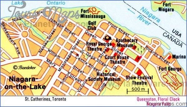 niagara falls map and travel guide 2 Niagara Falls Map and Travel Guide