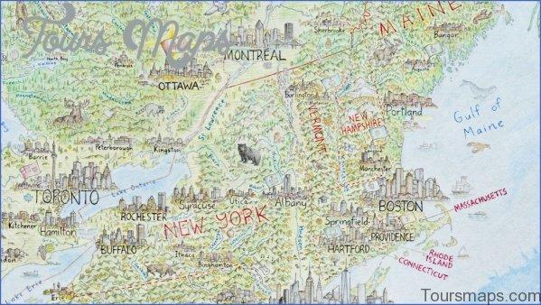 north america map of boston 12 North America Map of Boston