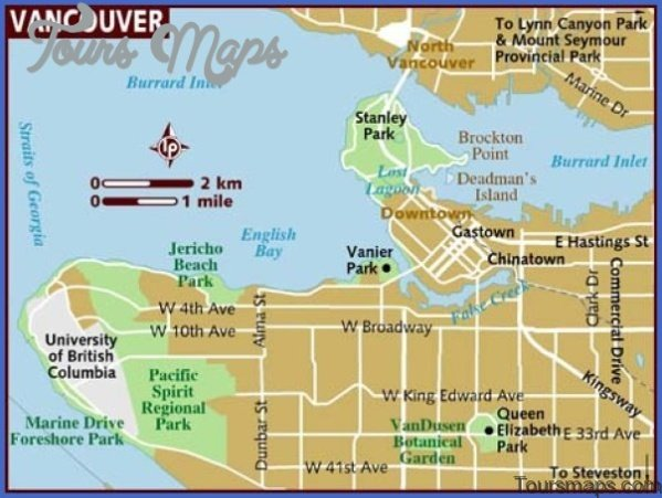 north america map of vancouver 101 North America Map of Vancouver