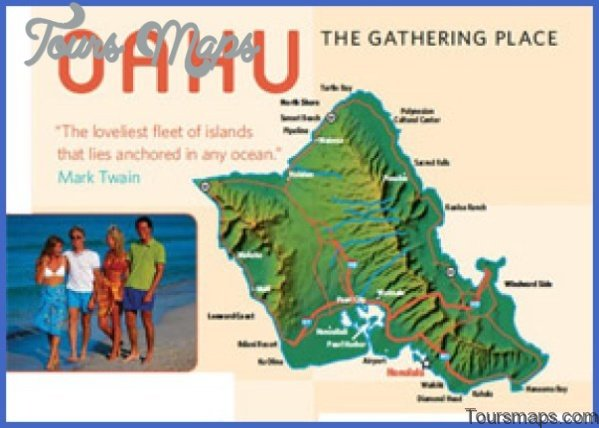 oahu map and travel guide 51 Oahu Map and Travel Guide