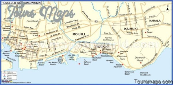 oahu map and travel guide 61 Oahu Map and Travel Guide