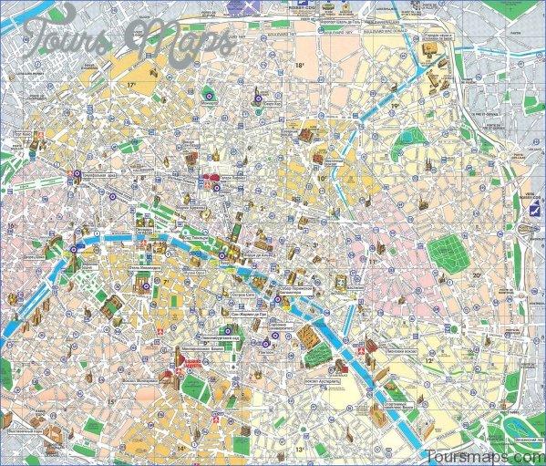 paris city map 5 Paris City Map