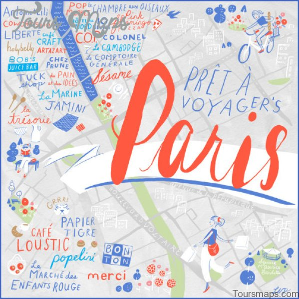 paris map and travel guide 121 Paris Map and Travel Guide