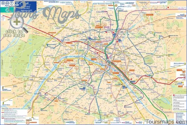 paris map and travel guide 14 Paris Map and Travel Guide