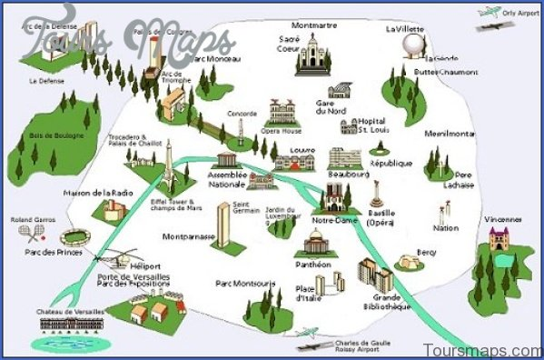 paris map and travel guide 2 Paris Map and Travel Guide