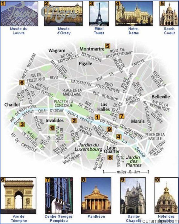 paris map and travel guide 21 Paris Map and Travel Guide