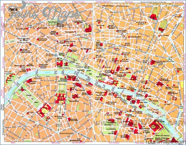 paris map and travel guide 32 Paris Map and Travel Guide