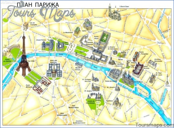 paris map and travel guide 5 Paris Map and Travel Guide