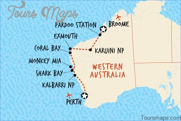 pbp10 2016 Perth Map and Travel Guide