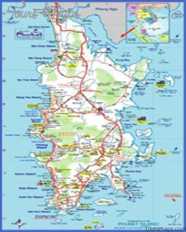 phuket map and travel guide 16 Phuket Map and Travel Guide