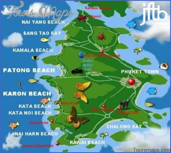 phuket map and travel guide 3 Phuket Map and Travel Guide