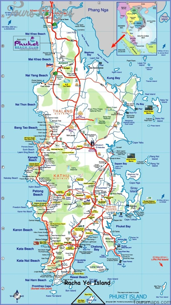 phuket map and travel guide 7 Phuket Map and Travel Guide