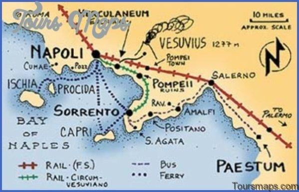pompeii to naples map 101 Pompeii to Naples Map