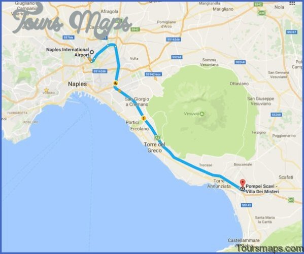pompeii to naples map 121 Pompeii to Naples Map