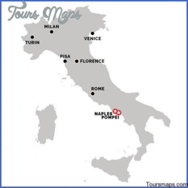 pompeii to naples map 171 Pompeii to Naples Map