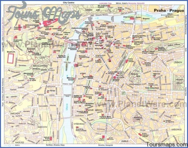 prague map and travel guide 111 Prague Map and Travel Guide