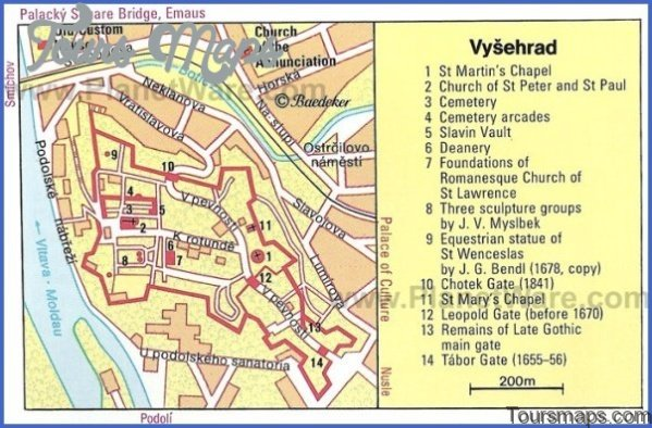 prague map and travel guide 31 Prague Map and Travel Guide