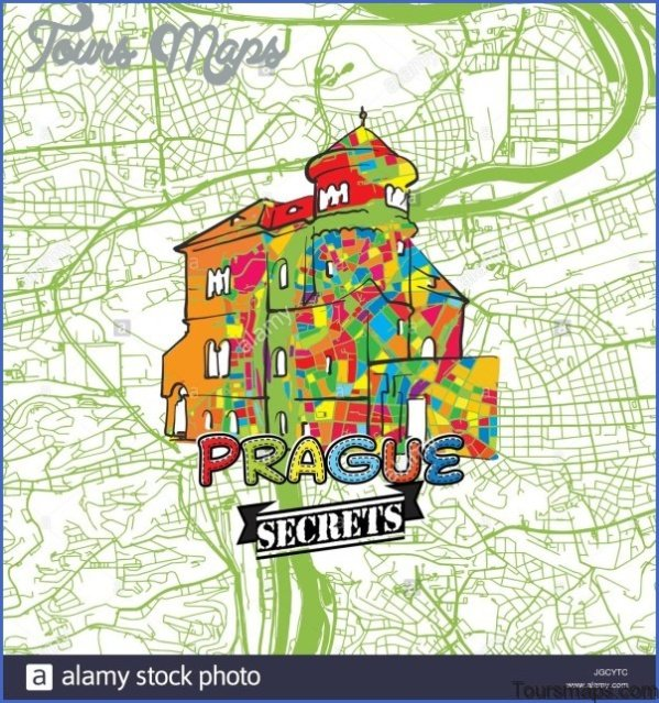 prague map and travel guide 61 Prague Map and Travel Guide