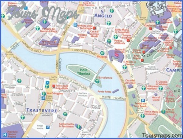rome map and travel guide 121 Rome Map and Travel Guide