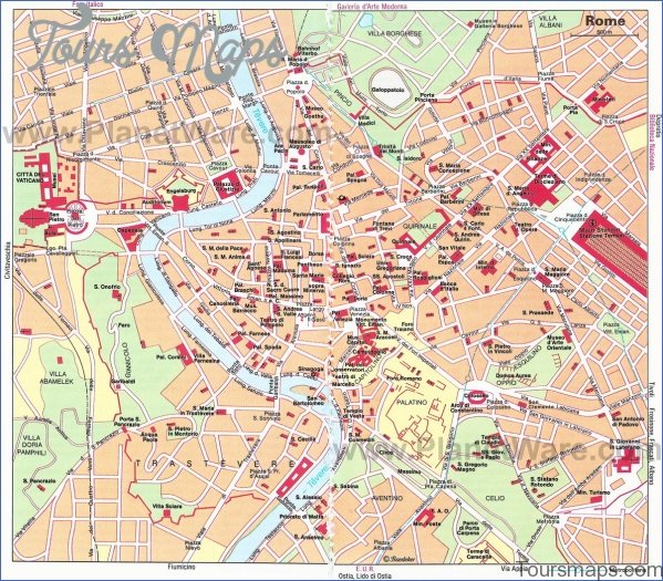 rome map and travel guide 16 Rome Map and Travel Guide