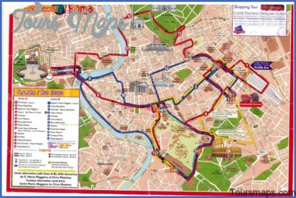 rome map and travel guide 51 Rome Map and Travel Guide