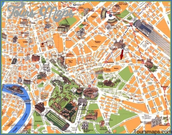rome map and travel guide 71 Rome Map and Travel Guide