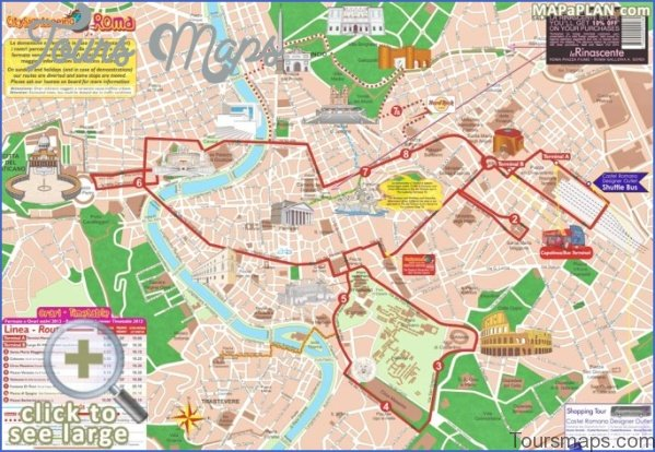 rome map and travel guide 81 Rome Map and Travel Guide