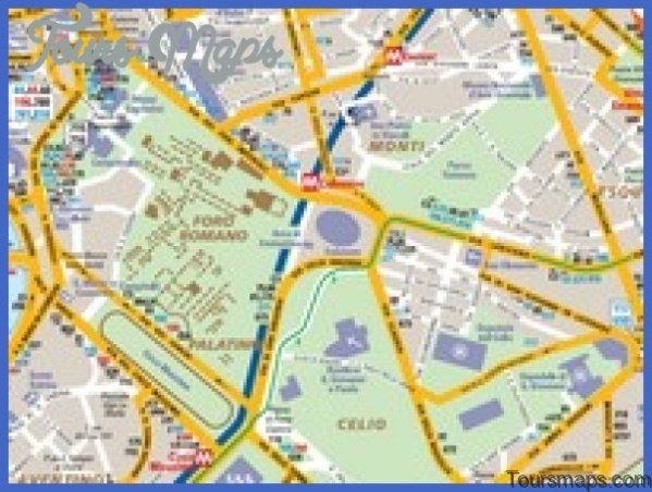rome map tourist attractions 15 Rome Map Tourist Attractions