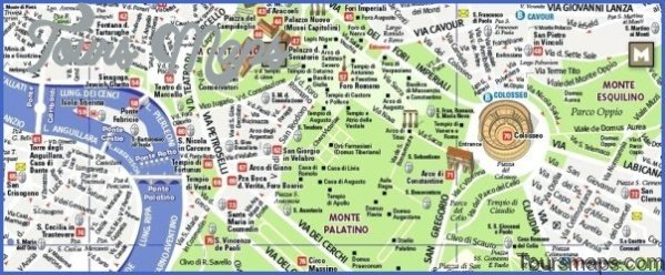 rome map tourist attractions 51 Rome Map Tourist Attractions