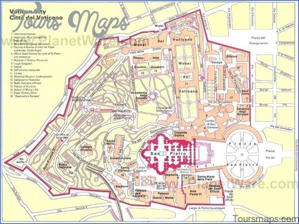 rome vatican city map 10 Rome Vatican City Map