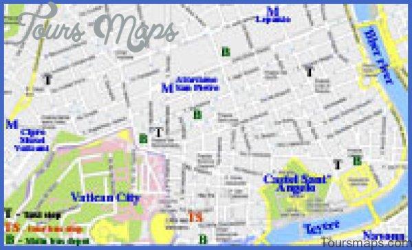 rome vatican city map 17 Rome Vatican City Map