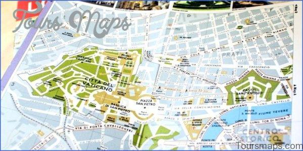 rome vatican city map 5 Rome Vatican City Map