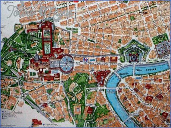 rome vatican city map 7 Rome Vatican City Map