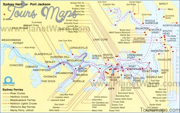 sydney map and travel guide 1 Sydney Map and Travel Guide