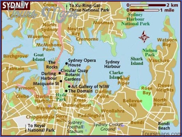 sydney map and travel guide 6 Sydney Map and Travel Guide