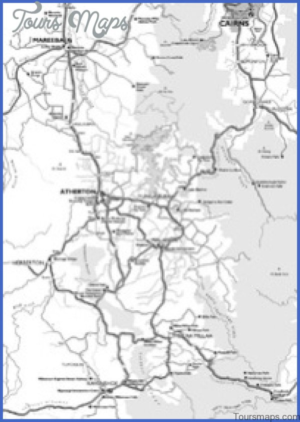 tablelands 200x283 Map of Tablelands Highway