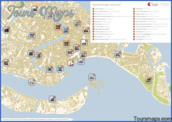 venice grand canal map and travel guide 61 Venice Grand Canal Map and Travel Guide